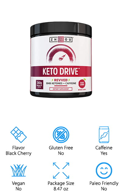 Keto Drive Exogenous Powder