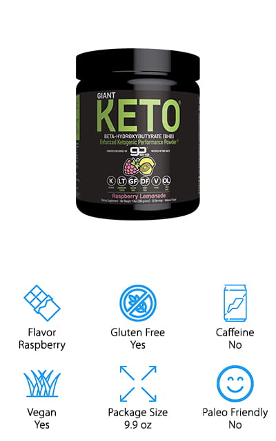 Giant Keto Ketone Supplement