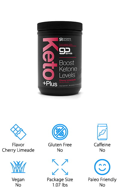 Sports Research Keto Plus