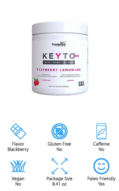 Preferred Elements Keyto Ketones