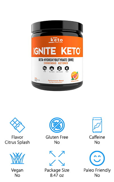 If getting into that perfect ketogenic state is a struggle for you, this powder can help! It works to help get you into ketosis rapidly, as it provides you with instant externally-produced ketones that will get your body chemistry started off on the right foot. It also helps to support the keto diet habits that you already have and eliminate the effects of the dreaded keto flu. It doesn't get much better than that! It's a great-tasting source of BHB ketones to help get you energized and ready to get through the day – or just your work out. There are no fillers or artificial flavors – it's pure and functional, with helpful ingredients only. It mixes into both hot and cold beverages and dissolves easily to give you a smooth experience and boost to the flavor. You know it works when they offer you a 100% satisfaction guarantee! Get what you need and enjoy it at the same time!