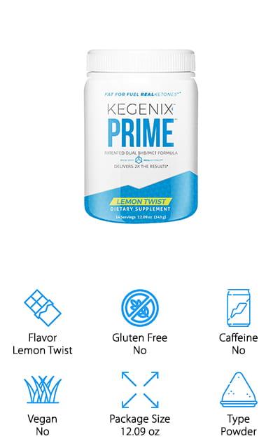 Kegenix PRIME Exogenous Supplement