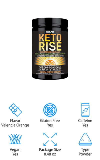 Keto Rise Exogenous Ketone Powder