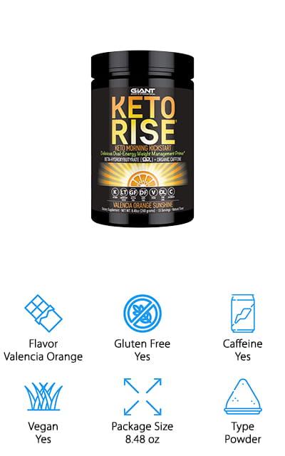 Keto Rise Exogenous Ketone Powder