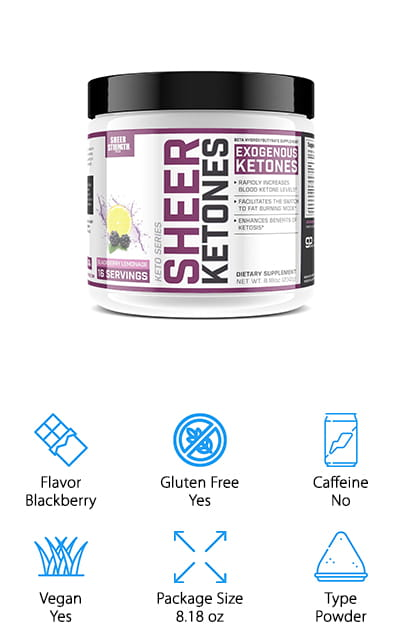 Sheer Ketones BHB Supplement