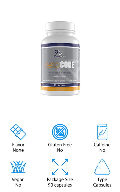 Ketolabs Keto Core Daily