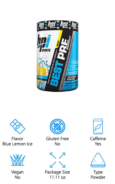 BPI Sports Pre-Workout Supplement