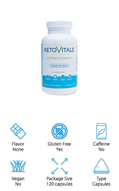 Keto Vitals Energy Supplement