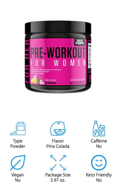 Sheer Strength Women's Pre-Workout