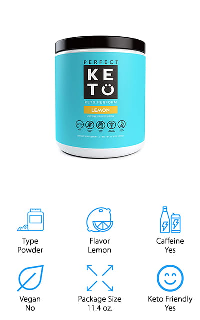 Perfect Keto Pre-Workout Supplement