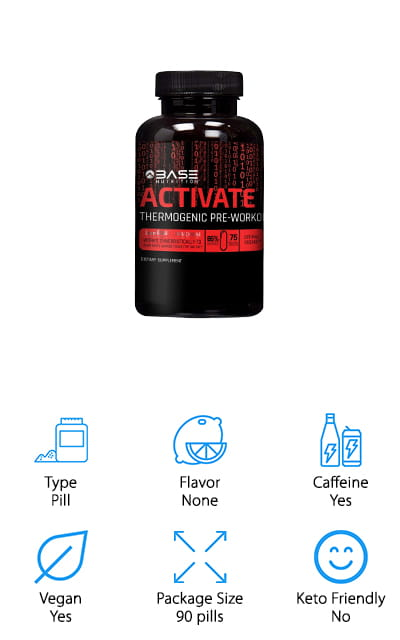 Base Activate Pre-Workout Supplement