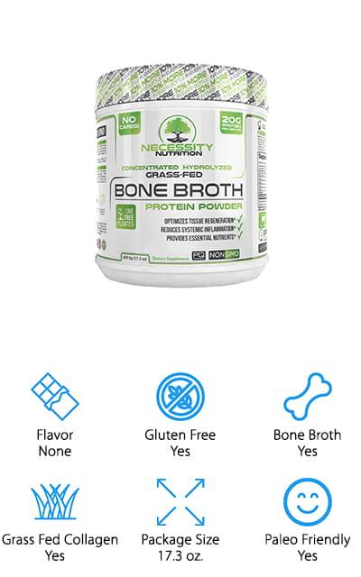 Necessity Nutrition Protein Powder