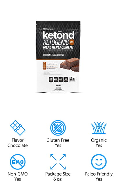 This meal replacement shake is made to taste just like one of your most loved sweets, a chocolate fudge brownie. It's completely keto friendly and has no GMO's or gluten, but does have macadamia nut oil, whole egg powder and whey protein. Not only that but you're getting a whole lot of vitamins to go right along with it and that's definitely something you can use if you're trying to get in better shape and get the most out of your workout. Made with plenty of protein and just the right amount of fats and carbs, it's made to help your diet along. Completely all natural there are no added sweeteners, flavors or colors added in this low carb shake mix but you will get a whole lot of benefits. That includes increased mental focus and the ability to burn off even more fat as fuel for your body. Not sure about chocolate flavoring? You can get French vanilla crème too.