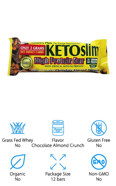 Nature's Plus KETOslim Bar