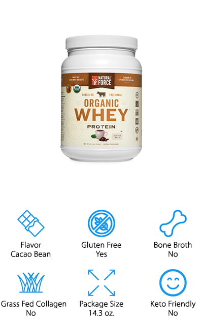 Natural Force Whey Protein Powder