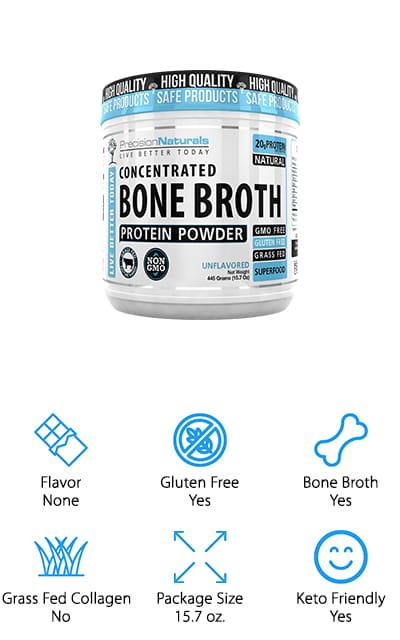 Precision Naturals Protein Powder