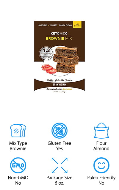 Keto and Co's Brownie Mix