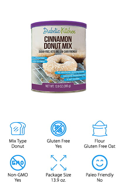 Diabetic Kitchen Donut Mix