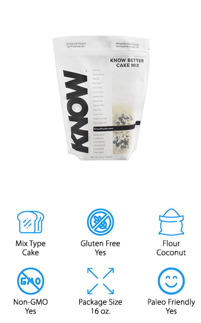 If you want to be able to make all of your favorite baked goods for keto bread crumbs with one product then this is where you want to go because it's actually a cake mix that lets you whip up your own recipes. But it's still low carb and keto and paleo friendly as well as gluten free. You get all kinds of superfoods like coconut and almond inside this mix, which means you're getting vitamins, minerals and other nutrients all at the same time, and you're doing it with a great tasting sweet. These have a low glycemic index and they are GMO free, which makes them healthier for your family and makes them great for those who are diabetic or watching their sugar for other reasons. One muffin has only 56 calories, which means you're going to have something you can enjoy without feeling guilty and you're getting some fiber and protein and not a lot of sugar at the same time. The great taste means that you won't miss the traditional baking mixes.