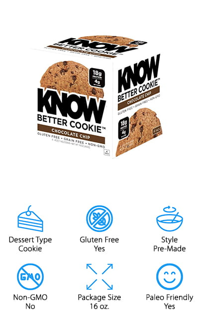 KNOW Foods Protein Cookies