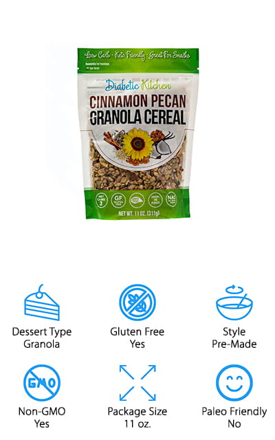 Diabetic Kitchen Granola