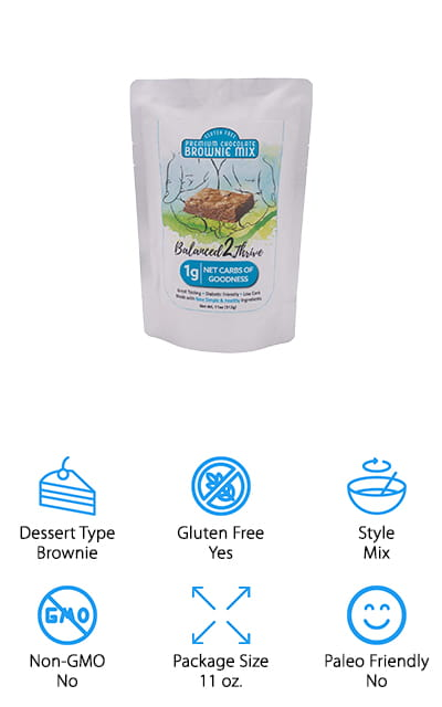 Balanced2Thrive Brownie Mix