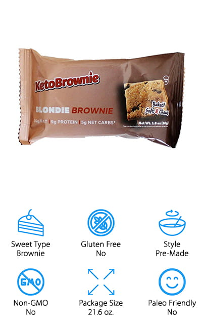 KetoBrownie Blondie