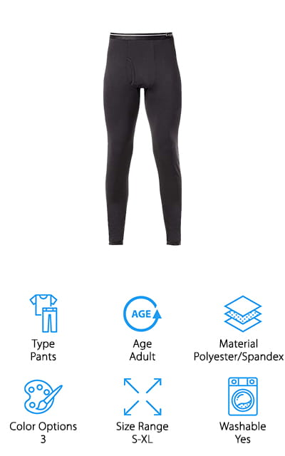 Lapasa 2-Pack Thermal Pants