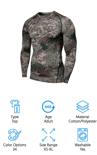 Tesla Thermal Baselayer Top