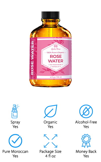 Leven Rose Rose Water Toner