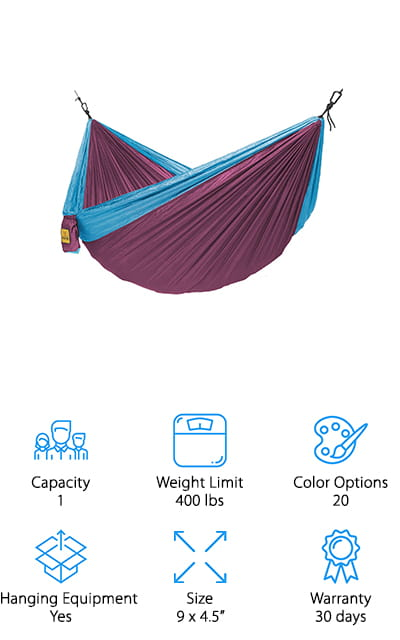 Best Camping and Backpacking Hammocks