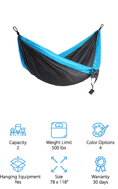 Honest Outfitters Camping Hammock
