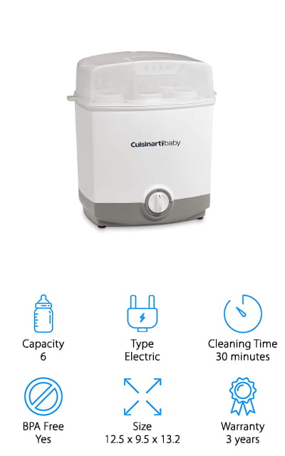 Cuisinart CS-6 Bottle Sterilizer