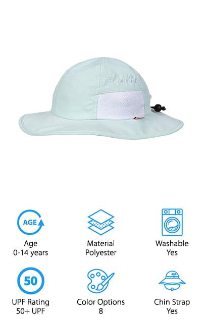 SwimZip Sun Hat