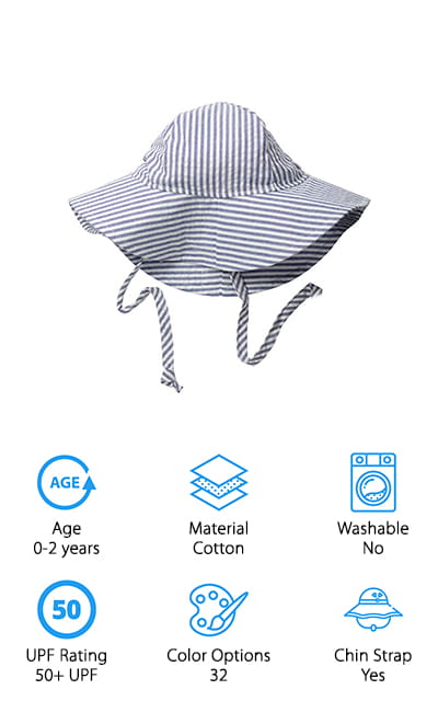 Flap Happy Baby Sun Hat