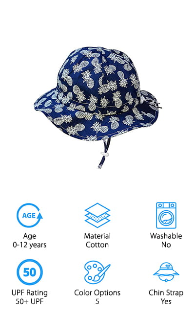 0856be05 10 Best Baby Sun Hats 2019 [Buying Guide] – Geekwrapped