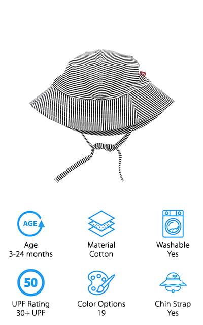 Zutano Baby Sun Hat