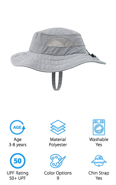 Connectyle Kids Sun Hat