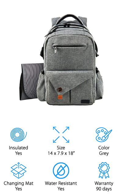 HapTim Diaper Backpack