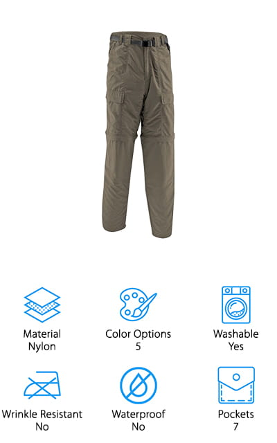 White Sierra Trail Pant