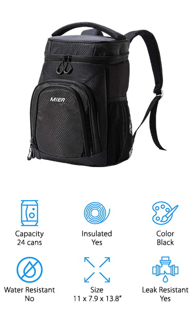 MIER Insulated Cooler Backpack