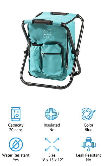 One Savvy Girl Backpack Cooler