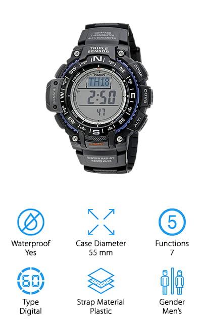 Casio Triple Sensor Watch