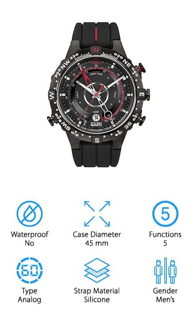 Timex Tide Temp Compass Watch