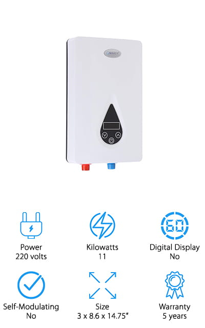 Marey Tankless Water Heater