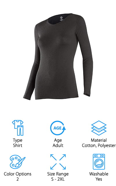 ColdPruf Base Layer Top