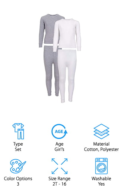 Sweet & Sassy Thermal Underwear