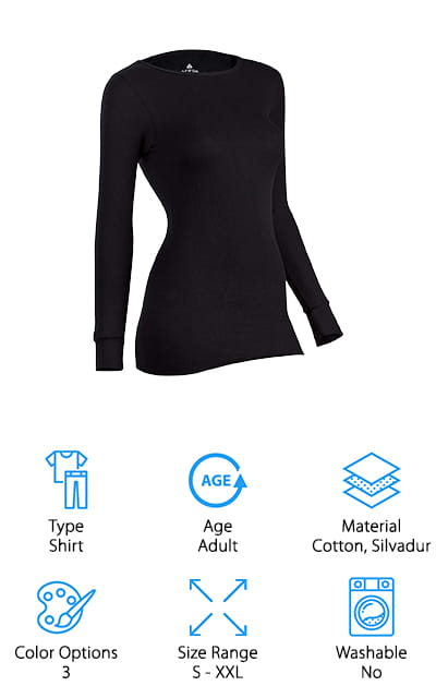 Indera Icetex Thermal Underwear Top