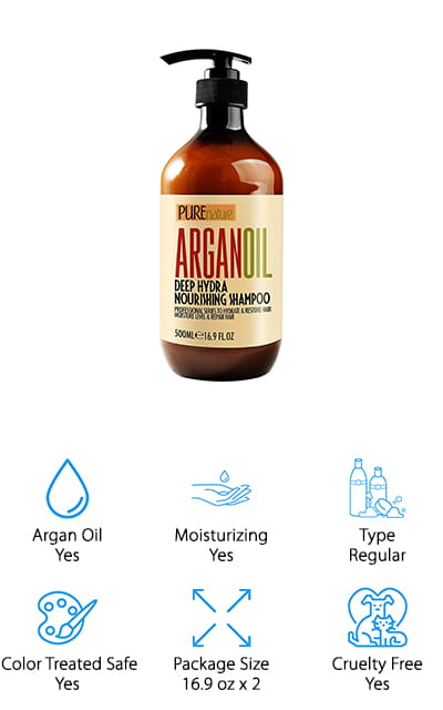 Pure Nature Argan Shampoo