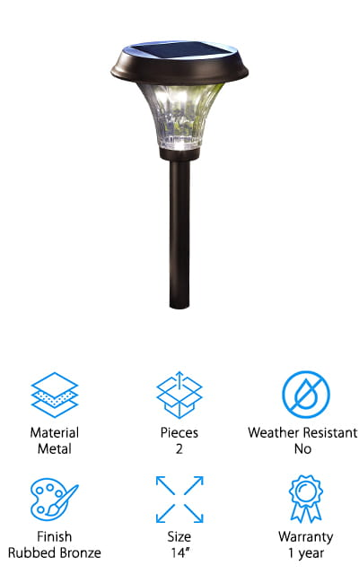 Moonrays Solar Path Light